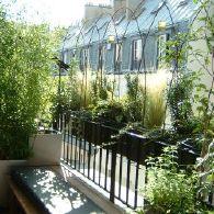 Am nagement de balcon cr ation de balcon et jardin balcoon paysagiste b - Amenagement balcon paris ...
